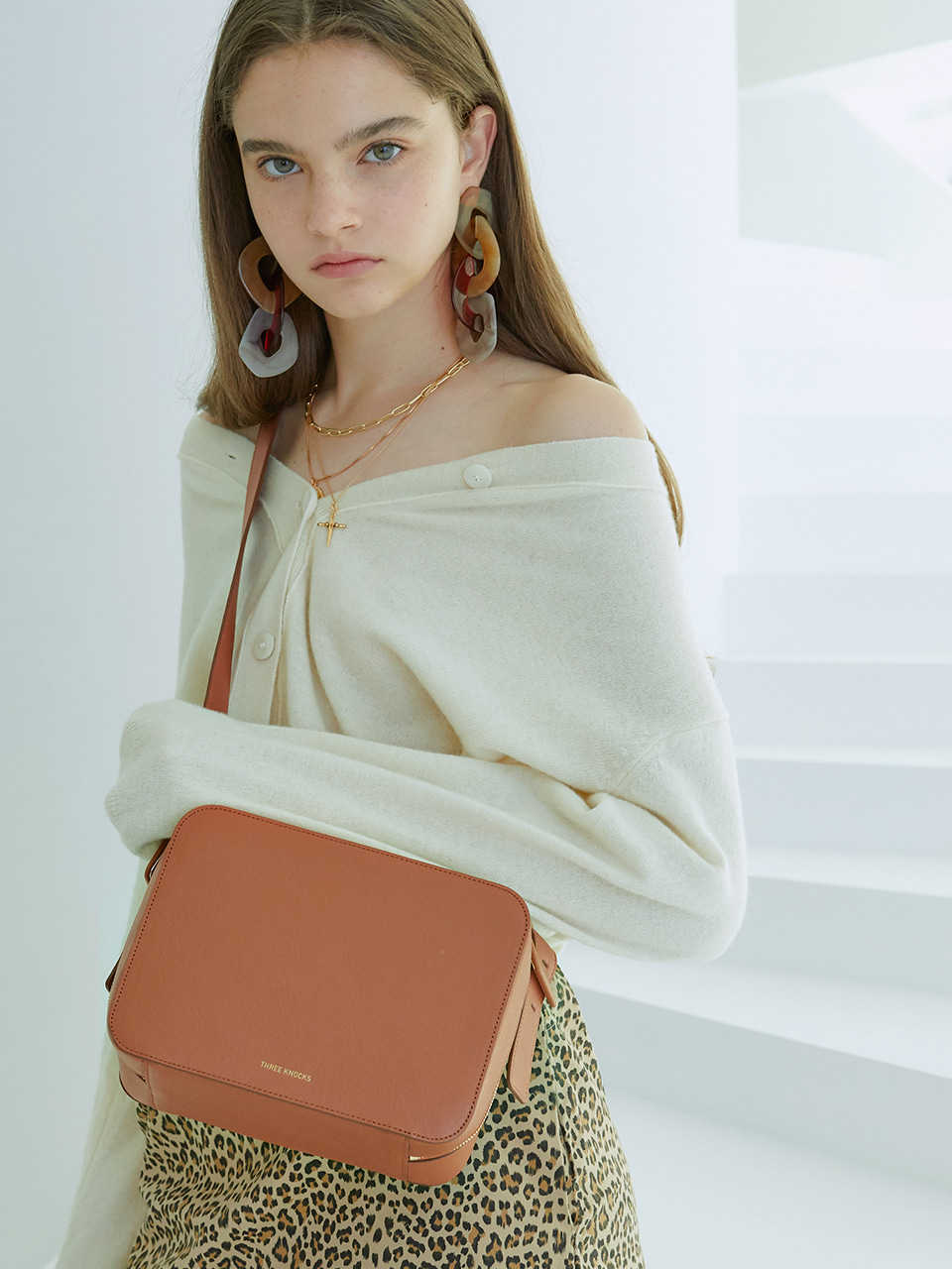 BELTED 3WAY BAG_camel